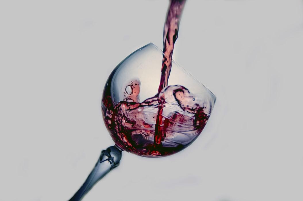 Enlever une tache de vin