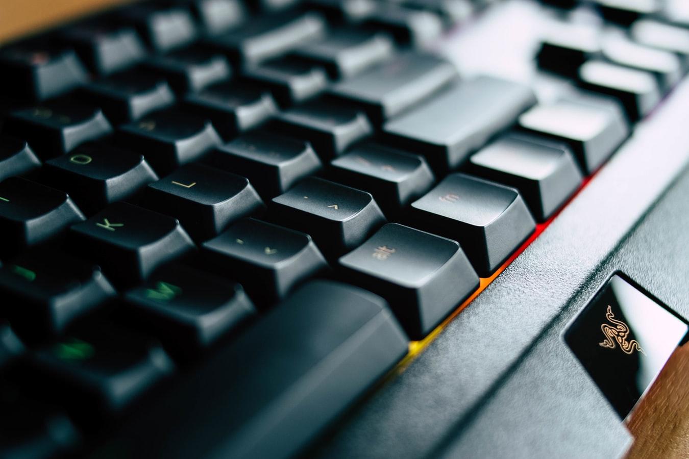 Nettoyer un clavier d'ordinateur